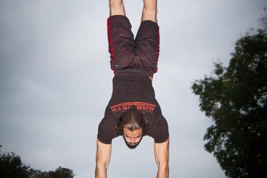 Workout at the Local Park w/ Simon & Sebastian