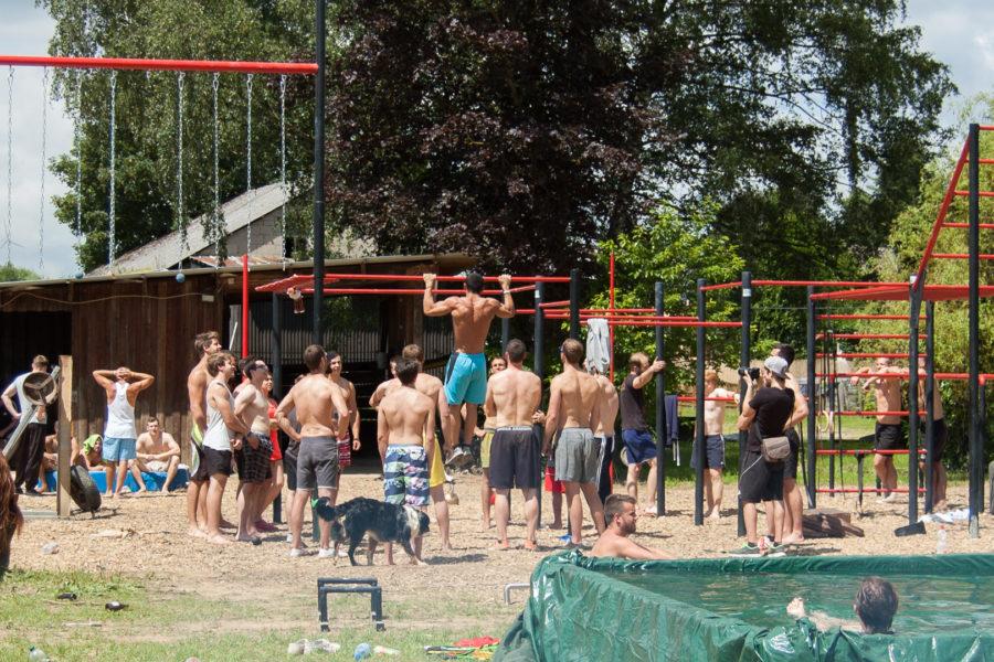 Summer Workout @ Calisthenics World