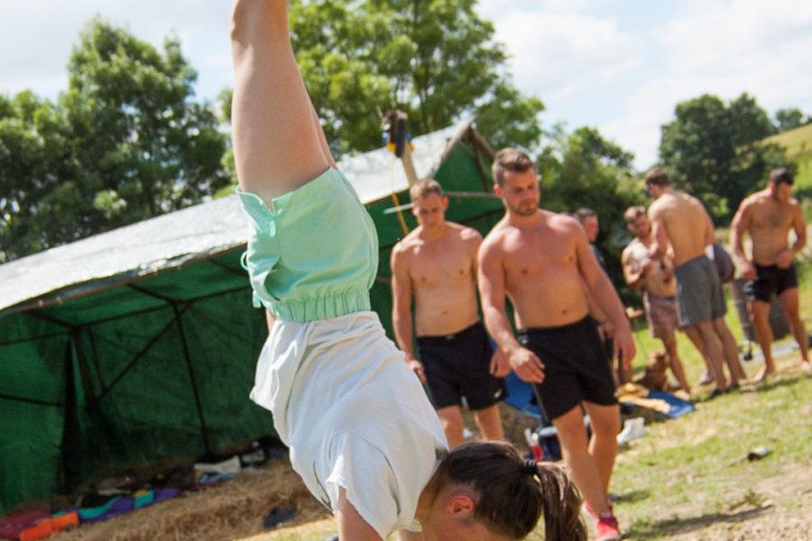 Summer Workout @ Calisthenics World w/ Stephanie